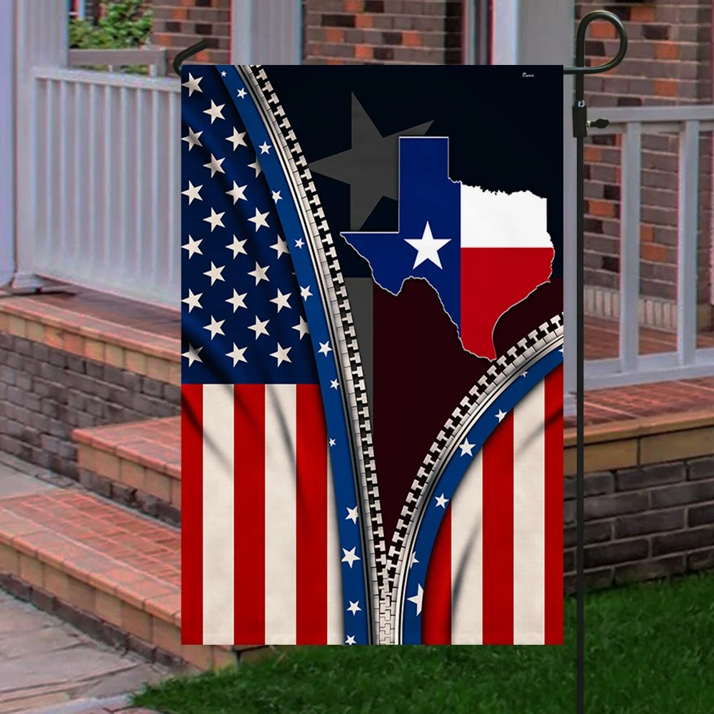 Texas State Of Mind Flag 2