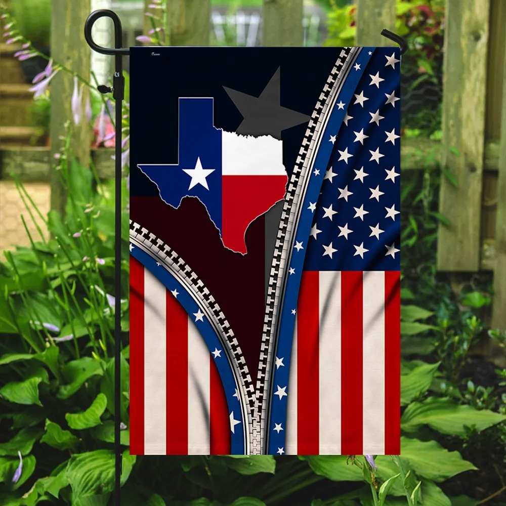 Texas State Of Mind Flag 3