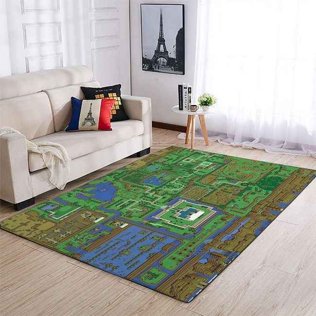 The Legend of Zelda Map Rug 2