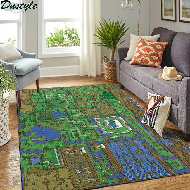 The Legend of Zelda Map Rug