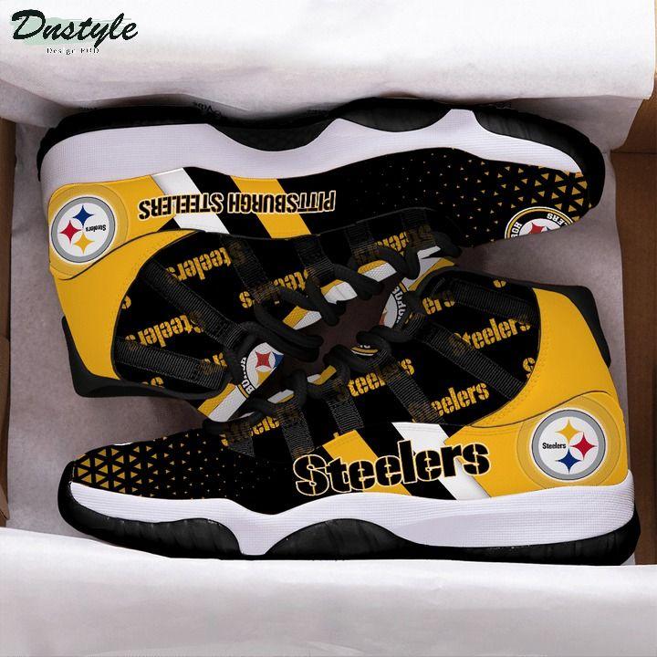 Pittsburgh steelers NFL air jordan 11 shoes 1