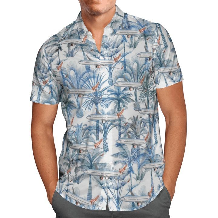 Virgin australia airlines hawaiian shirt 1
