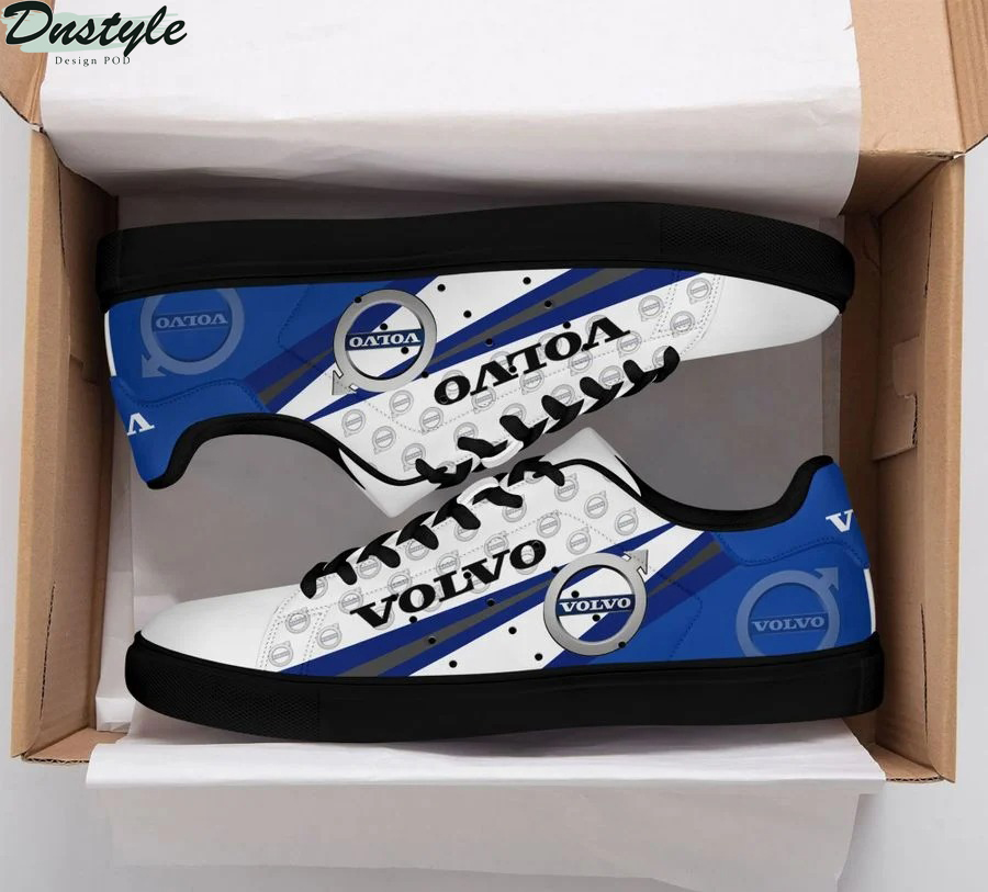 Volvo blue stan smith low top shoes