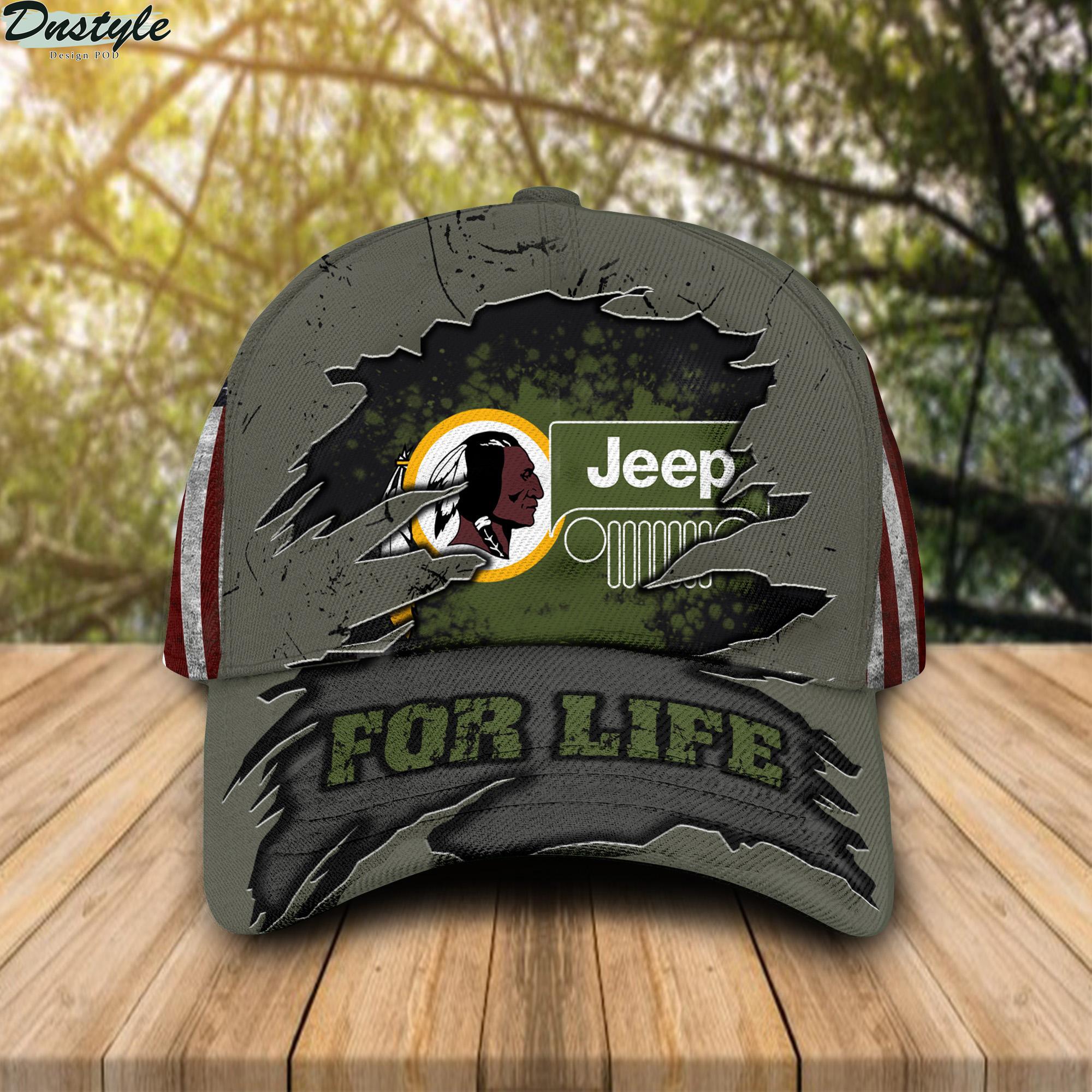 Washington Redskins Jeep For Life Cap