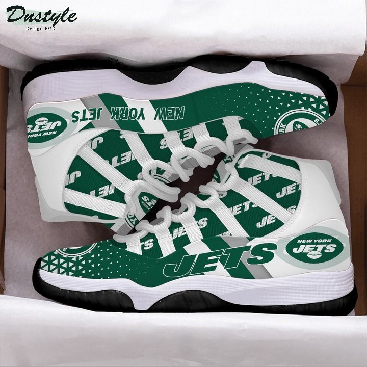 New york jets NFL air jordan 11 shoes 1