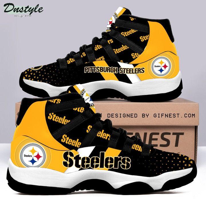 Pittsburgh steelers NFL air jordan 11 shoes
